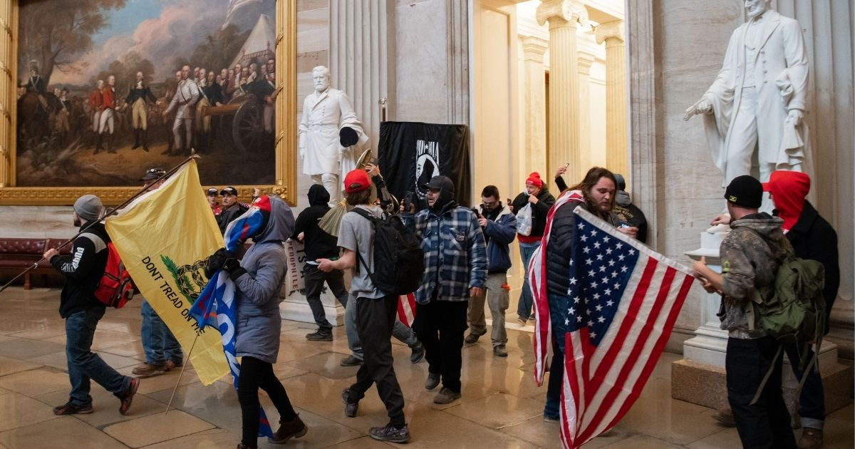 Despite Accusations from Dems, No Jan. 6 Protesters Have Been Charged with Treason or Sedition